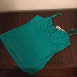 NWT INC Green Tank Top, Size Lg